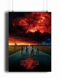 Постер Stranger Things #4 (pm092)