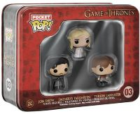 Набор Pocket POP! 3-Pack Tin: Game of Thrones: Jon, Tyrion, Daenerys