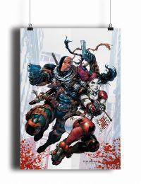 Постер Deathstroke and Harley Quinn (pm063)