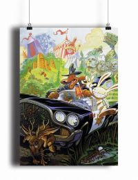 Постер Sam and Max (pm094)