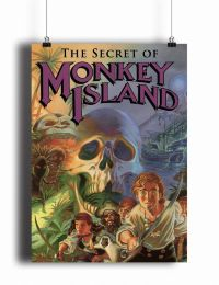 Постер the Secret of Monkey Island (pm099)