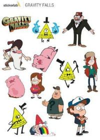 Стикерпак Stickerlab - Gravity Falls
