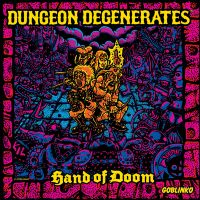 Настольная игра Dungeon Degenerates. Hand of Doom