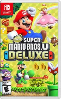 Игра для Nintendo Switch - New Super Mario Bros. U Deluxe