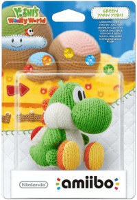 Фигурка Nintendo Amiibo - Green Yarn Yoshi (Yoshi's Woolly World Series)