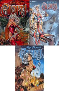 Glory №0-2 by Alan Moore (complete series)