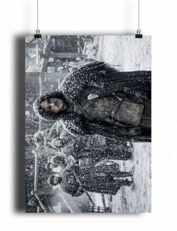 Постер Game of Thrones - Jon Snow (pm109)