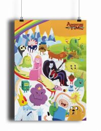 Постер Adventure Time (pm080)