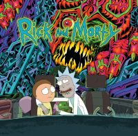 Винил Rick and Morty Soundtrack 2LP (Green and Orange Vinyl)