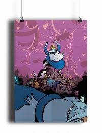 Постер Adventure Time Ice King (pm081)