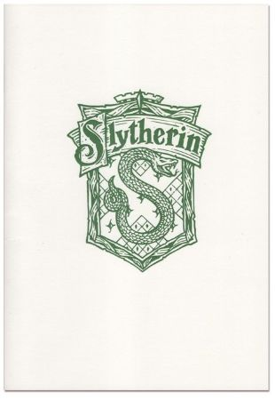 Скетчбук InkCraft - Harry Potter Slytherin