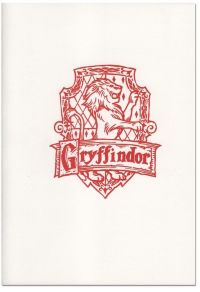 Скетчбук InkCraft - Harry Potter Gryffindor