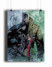 Постер Batman Hush by Jim Lee #2 (pm086)