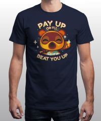 Футболка QWERTee - Animal Crossing - Pay Up