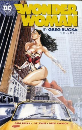 Wonder Woman By Greg Rucka TPB
