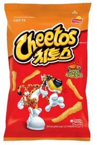 Снеки Cheetos Crunchy Snacks (Korea)