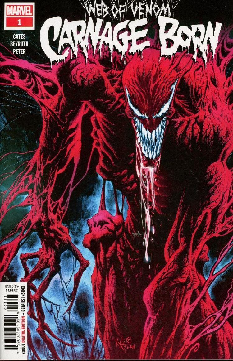 Комикс Web Of Venom Carnage Born #1 купить недорого в ...