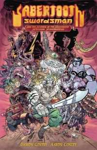 Sabertooth Swordsman HC Vol.1