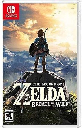 Игра для Nintendo Switch - The Legend of Zelda: Breath of the Wild