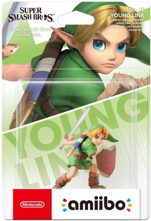 Фигурка Nintendo Amiibo - The Legend of Zelda: Young Link