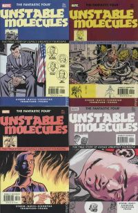 Fantastic Four: Unstable Molecules №1-4 (complete series)
