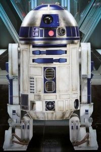 Постер лицензионный Star Wars: Episode VII - The Force Awakens (R2-D2)