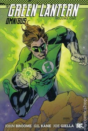Green Lantern Omnibus HC By Gardner Fox, John Broome, and Gil Kane