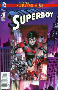 Superboy Future's End (3-D cover)