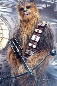 Постер лицензионный Star Wars The Last Jedi - Chewbacca Bowcaster