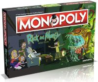 Настольня игра Monopoly Rick and Morty Edition
