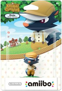 Фигурка Nintendo Amiibo - Kicks (Animal Crossing Series)