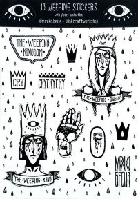 Стикерпак InkCraft - Weeping Stickers