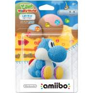 Фигурка Nintendo Amiibo - Light Blue Yarn Yoshi (Yoshi's Woolly World Series) - Фигурка Nintendo Amiibo - Light Blue Yarn Yoshi (Yoshi's Woolly World Series)
