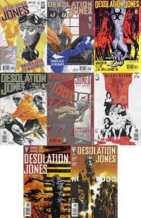 Desolation Jones №1-8 (complete series)