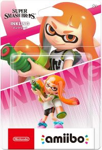 Фигурка Nintendo Amiibo - Inkling Girl (Super Smash Bros. Series)