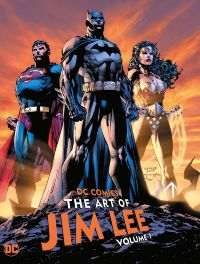 DC Comics: The Art of Jim Lee HC