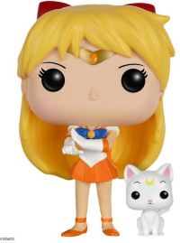 Фигурка Funko Pop! Animation: Sailor Moon - Sailor Venus With Artemis