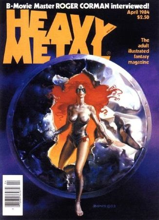 Heavy Metal 1984 April (18+)