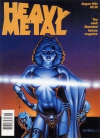 Heavy Metal 1984 August (18+)