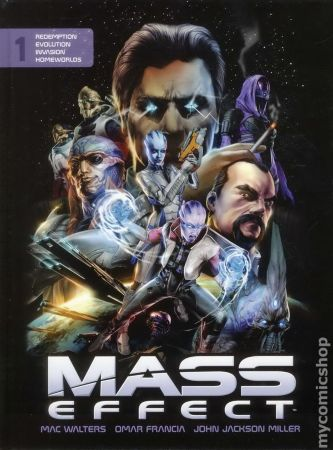 Mass Effect HC Vol.1 (Library Edition)