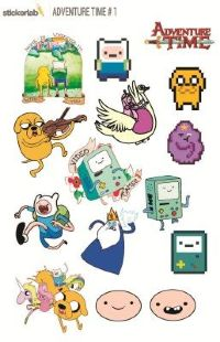 Стикерпак Stickerlab - Adventure Time №1