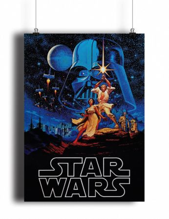 Постер Classic Star Wars A New Hope (pm027)