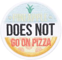 Нашивка Loungefly - Pinapple Does Not Go On Pizza