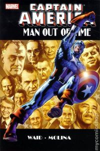 Captain America: Man Out of Time HC
