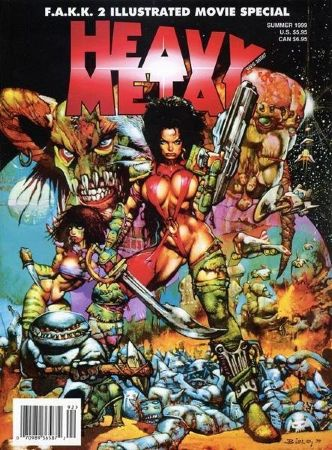 Heavy Metal 1999 F.A.K.K.² Movie Special Summer (18+)