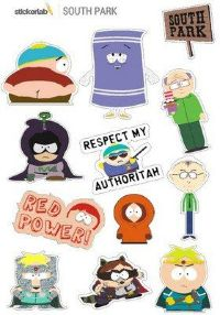 Стикерпак Stickerlab - South Park