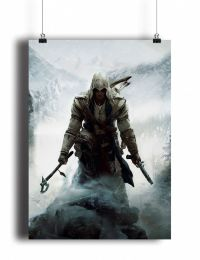Постер Assassin's Creed III - Connor (pm031)