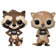 Фигурка Funko Pop! Marvel Games: Guardians of the Galaxy Telltale Series - Rocket & Lylla 2PK