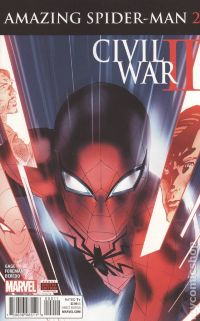 Civil War II: Amazing Spider-Man №2A
