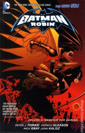 Batman and Robin TPB Vol.4 (The New 52)